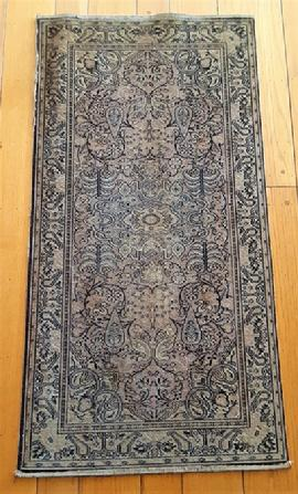 Antique Wilton rug