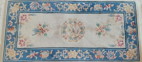 chinese cream color rug